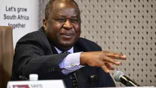 "Finance Minister Tito Mboweni has described talks with the International Monetary Fundfor a loan to shore up South Africa's public finances in the face of the Covid-19 crisis as ""difficult"". Picture: GCIS"