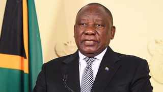 President Cyril Ramaphosa addressing the nation on developments in South Africa's risk-adjusted strategy to manage the spread of Covid-19 from the Union Buildings in Pretoria. Picture: Elmond Jiyane/GCIS