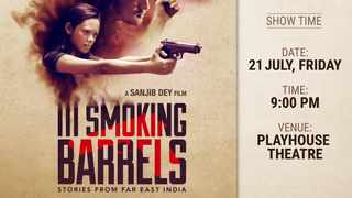 III Smoking Barrels shows at the Durban Playhouse theatre at 9pm tonight.