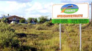 Orania, which is located along the Orange River in the Northern Cape, was founded in 1990 and currently has around 1 500 inhabitants. Picture: Boxer Ngwenya/African News Agency (ANA)