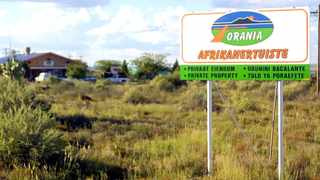 Orania, which is located along the Orange River in the Northern Cape, was founded in 1990 and currently has around 1 500 inhabitants. File picture: Boxer Ngwenya/ANA Pictures