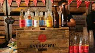Everson's Cider will be on sale at the Stellenbosch Craft Beer Festival - pic Facebook