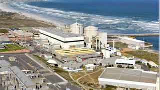 December 2013 Aerial of Koeberg power station. Picture: Bruce Sutherland