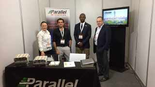 Members of the Parallel Wireless team. Image: Parallel Wireless facebook.