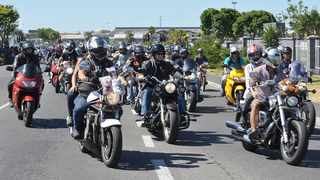 The Toy Run, is Africa's largest motorcycle charity event. File photo: Dave Abrahams