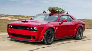 John Hennessey makes the fir fly, atop a 520kW Dodge Charger Hellcat Widebody.