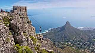 Cape Town hiker Andrew Patterson will climb Table Mountain 365 times this year  to raise R1 million for charity.Picture: DELPHINE POGGIANTI.