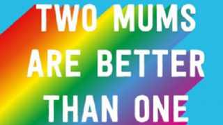 """The supermarket has been joined by Scribbler, whose Mother's Day offerings include a """"Two mums are better than one"""" card for same-sex couples."""
