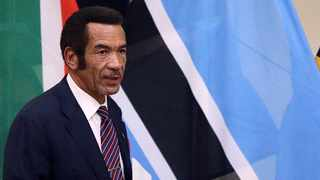 Ian Khama, a retired army general, stepped down as president of Botswana, handing the diamond-rich country to his deputy after a decade at the helm. Picture: Reuters/Siphiwe Sibeko/File Photo