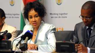 Defence Minister Lindiwe Sisulu has refuted suggestions that South Africa has sold sniper rifles to Libya. Photo: Independent Newspapers
