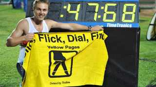 After breaking the national record in his first race of the season, hurdler LJ van Zyl is eyeing a medal at the World Championships.