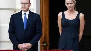 Prince Albert II of Monaco, left, and his fiancee Charlene Wittstock of South Africa, will wed in a civil ceremony on July 1 and a religious ceremony on July 2. (AP Photo/Lionel Cironneau)