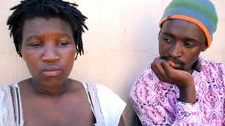PARENTS that lost their baby allegedly stolen by a local Sangoma Picture: DOCTOR NGCOBO