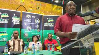 OBJECTIVE?: Chairman of the ANCs national disciplinary committee of appeals Cyril Ramaphosa announces the outcome the appeal lodged by youth league leader Julius Malema in February.Picture: TJ Lemon