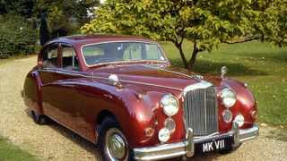 This Jaguar MK VII was delivered to the Her Majesty the Queen Mother in September 1955, and she liked it so much she kept it as her private car until April 1973.