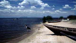 Uganda's Lake Victoria, the largest of all African lakes.