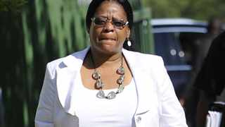 051110. Polokwane in Limpopo Province. Limpopo MEC for the Department of Health and Social Development Miriam Segabutla arrives for The Limpopo Provincial Government Budget Lekgotla that took place on 04 and 05 November 2010.  Picture: Dumisani Sibeko