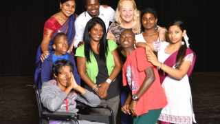 SOULFULLY REWARDING: A New Life core company members are (back) Verushka Pather, Vusi Makhanya, Caroline Smart and Sivanesan Dharmalingam. In front are Tanya Govender (in wheelchair), Khethelo Doncabe, Pauline Dalais, Thobani Malevu and Kiara Moodley.