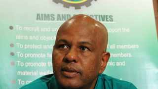 Association of mineworkers and construction union (AMCU) president Joseph Mathunjwa. Picture: Tiro Ramatlhatse.