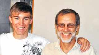 Koos Roux, 59, of Bloemendal, was killed while riding on Bottelary Road with his son Kobus, 19, just before sunrise in 2013. Picture: SUPPLIED