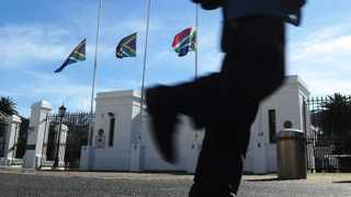 The entrance to Parliament in Cape Town. File photo: Michael Walker