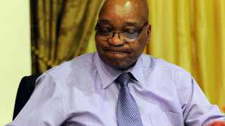 04/09/2012.President Jacob Zuma during the cabinet lekgotla that was held at SM Makgatho Presidential Guesthouse in Pretoria Picture: Masi Losi