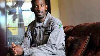 Mandla Maseko was set to become the first black African to travel to space after he won the Axe Apollo Space Academy competition. Picture: Thobile Mathonsi/African News Agency (ANA)