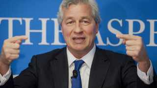 """JP Morgan Chase CEO Jamie Dimon participates in the announcement of the launch of a new $250 million, five year initiative to address the skills gap affecting employers and the unemployed worldwide at the Aspen Institute in Washington, D.C., U.S., on Thursday, Dec. 12, 2013. The initiative, called """"New Skills at Work"""" is being billed as the largest-ever private sector program of its kind. With extensive data-gathering and analysis at its core, New Skills at Work will develop 'Gap Reports' on the specific job opportunities in local markets across the U.S. and in Europe and the skills needed by workers to fill those jobs. Photographer: Pete Marovich/Bloomberg"""