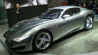 Maserati Alfieri pure electric concept was first shown at the Geneva motor show in March 2014 - now it's slated for production.