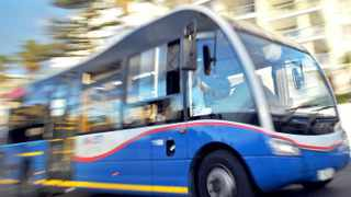 Cape Town - 140402 -  Striking MyCiTi bus drivers disrupted several routes in Cape Town on Wednesday morning, a city official said. Several drivers from the Transpeninsula Investments (TPI) vehicle operating company started striking at 05:00, transport mayoral committee member Brett Herron said. Picture: David Ritchie