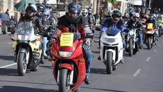 Bikers Against E-Tolls protest ride will go right past the Western Cape headquarters of Sanral in Durban Road, Bellville. Make some noise, please.