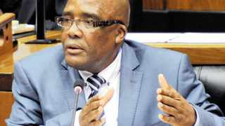 Health Minister Aaron Motsoaledi speaking in Parliament during the post SoNA debate at the National Assembly in Cape Town. 19/06/2014 Kopano Tlape GCIS