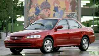 When 18-year-old Ashley Parham had a minor car-park crash in a 2001 Honda Accord Sedan like this one, the driver's side airbag inflater exploded and a shard of metal slashed her carotid artery, causing her to bleed to death.
