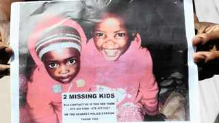 This was the leaflet distributed after the two cousins, Yonelisa and Zandile Mali, disappeared in Diepsloot. Their bodies were later found dumped in a toilet in the township.
