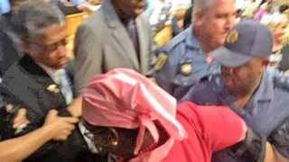 It is an outrage that last Thursdays intrusion of riot police into the National Assembly to manhandle opposition members was obviously pre-planned. And that ANC parliamentarians openly applauded their action, says the writer. Picture: Solly Malatsi