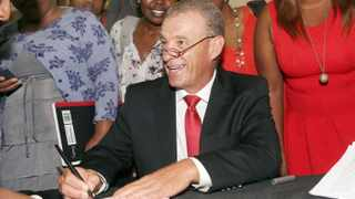 Gerrie Nel joked around and gave the law hopefuls advice at a packed lecture hall at the University of KwaZulu-Natal Howard College campus. Picture: Nqobile Mbonambi