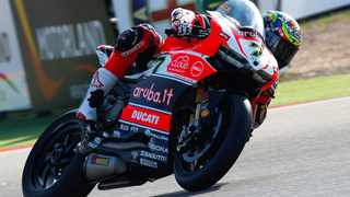 Chaz Davies took his first World Superbike win since Nurgurgring in 2013, the first for Ducati in 59 races and the first ever for the Panigale R.