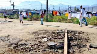 Cape Town-150607- The site at Lwandle informal settlement in Strand, where 3  victums were burnt to death in a mob justice attack in the early hours of this morning. Reporter: Siya, Photo: Ross Jansen