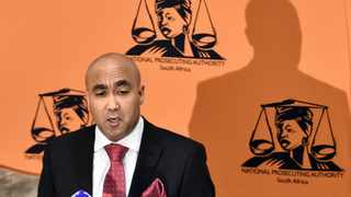 07/07/2015. Newly appointed National Prosecuting Director of Public Prosecution Shaun Abrahams delivers a speech after he was introduced to his staff, media and the public media by Minister of Justice and Correctional Service Michael Masutha. Picture: Oupa Mokoena