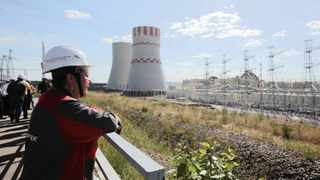 A visitor observes the Novovoronezh NPP-2 nuclear power station operated by a unit of Rosatom in Russia. File picture: Andrey Rudakov, Bloomberg