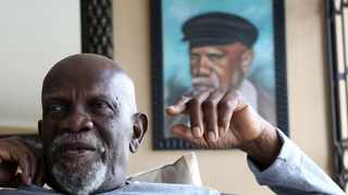 Bravery award recipient, Eric Stalin Mtshali, who spent 30 years in exile, said home sweet home was not just an idiom for him, but a mantra which drove him to fight for liberation.   Picture: Motshwari Mofokeng