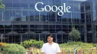 Riaz Moola, attending a company programme at the Google headquarters in California in July last year.