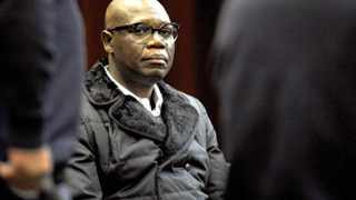 Internationally acclaimed artist Zwelethu Mthethwa at the Cape Town High Court where is is on trial for the murder of 23-year-old sex worker Nokuphila Kumalo. File picture: Adrian de Kock