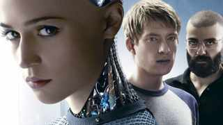 TALK HEAVY: Ex machina is a classy piece of cerebral sci-fi with high production values.