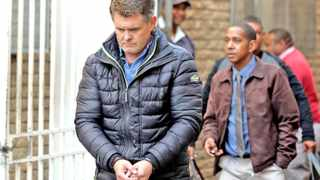 Jason Rohde outside the Stellenbosch Magistrates Court  on Thursday.   Picture: Piet Smit