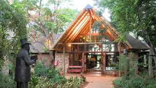 The Kedar Heritage Lodge, Conference Centre & Spa reflects Africa's treasures.