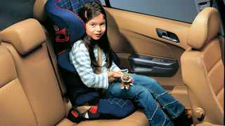 Properly used child seats can significantly reduce the chance of injury or death.