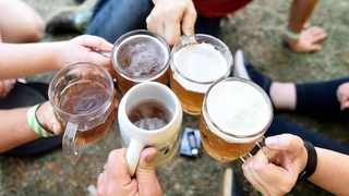Beer lovers say cheers at last year's Oktoberfest held at the Deutsche Schule, Pretoria. A new major study had found that drinking too much can treble the risk of developing dementia.  Picture: Thobile Mathonsi