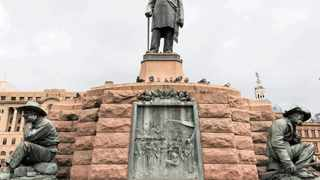 The South African Geographic Names Council says the statue of 'Oom' Paul Kruger is set to stay as part of the redevelopment of Church Square. Picture: Valerie Boje