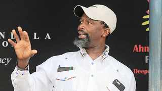 Actor Sello Maake KaNcube says SA needs a creative economy that will entrench its contribution to our country's GDP, social cohesion, create shared value and continue as a unifying voice in times of crisis: Matthews Baloyi/African News Agency (ANA)